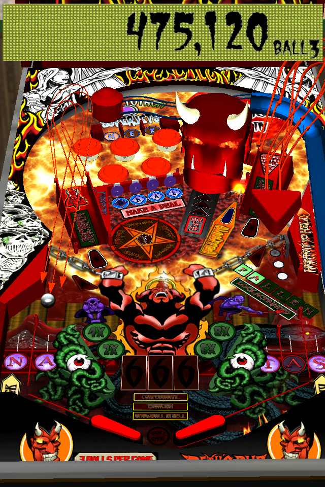 Screenshot Devil's Due Pinball